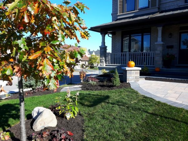 Low maintenance garden design xeriscaping Ottawa